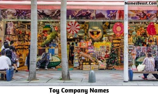 Toy Company Names