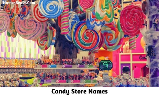 Candy Store Names