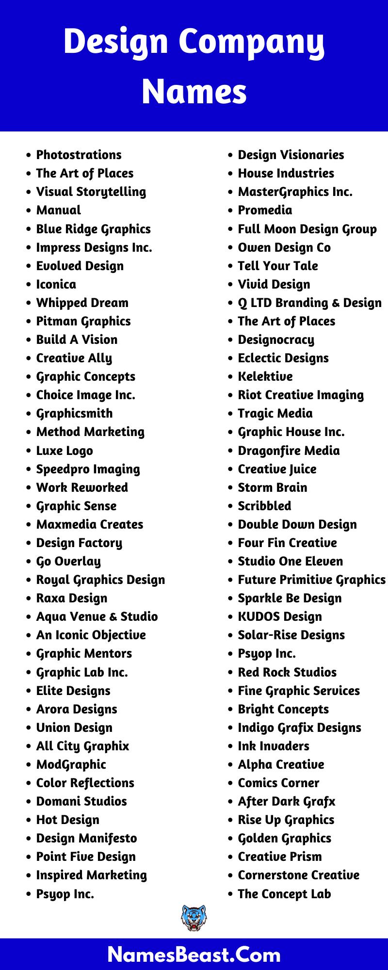 Design Company Names