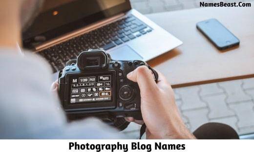 Photography Blog Names