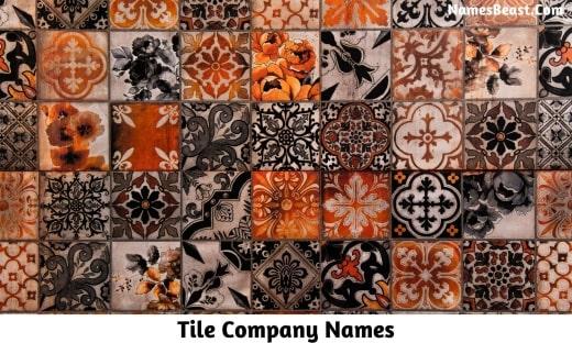 Tile Company Names