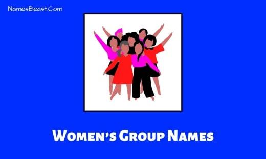 Women's Group Names