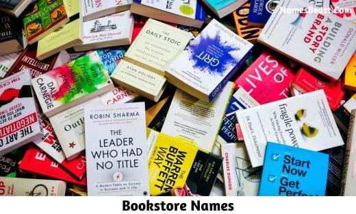Bookstore Names