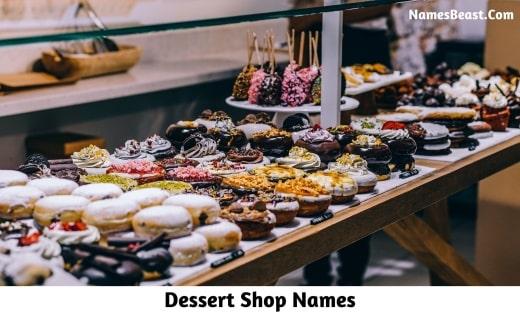Dessert Shop Names