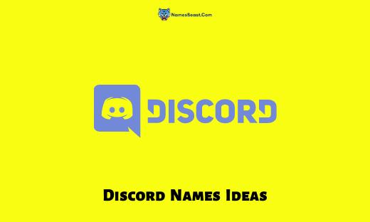 Discord Names Ideas