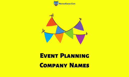 Event Planning Company Names