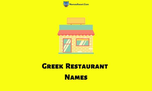 Greek Restaurant Names