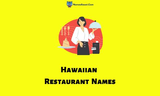 Hawaiian Restaurant Names