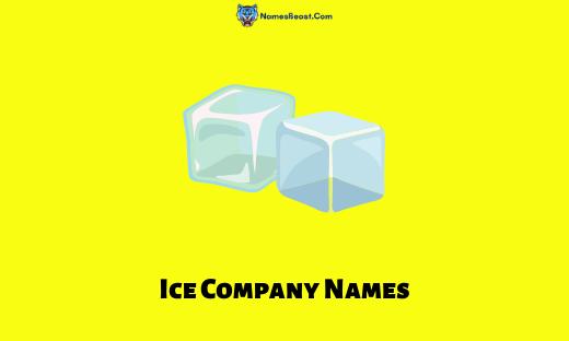 Ice Company Names