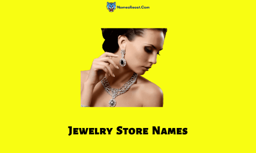 Jewelry Store Names