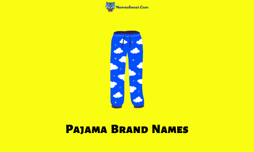 Pajama Brand Names
