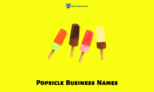 Popsicle Business Names