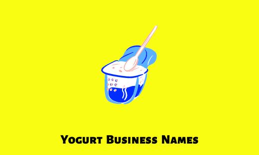 Yogurt Business Names