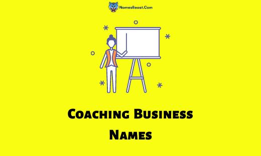 Coaching Business Names