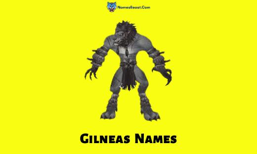 Gilneas Names