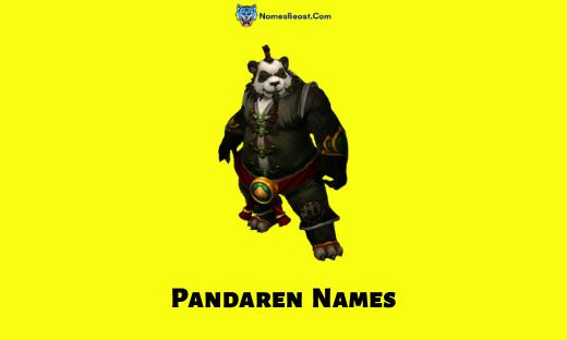 Pandaren Names