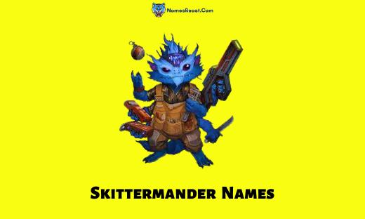 Skittermander Names
